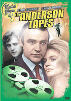 The Anderson Tapes-Sony DVD-Region 1-New-Sean Connery-Dyan Cannon