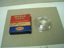 Mopar NOS Park Lamp Lens 49 Dodge, 50 DeSoto, Chrysler, Imperial