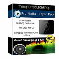 Professional Media Player Pack with built in Video Converter and Flash Player