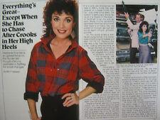 1985 TV  Guide(PHOEBE  CATES/LACE II/STEPFANIE KRAMER/BROOKE  ADAMS/LINA RAYMOND