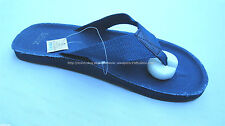 30% OFF! MIX CANVAS STRAP NAVY FLIP FLOP SANDALS SIZE 11 BNWT US$ 15