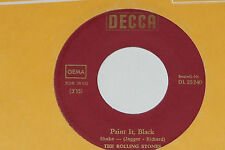"The Rolling Stones-Paint It, Black/Long while - 7"" 45 Decca (DL 25 240)"