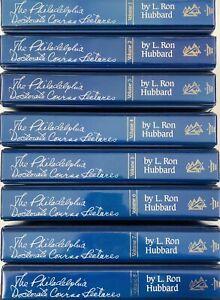 Philadelphia Doctorate Course Lectures L Ron Hubbard Vol 1-8 on Cassette