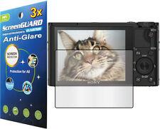 3x Anti-Glare LCD Screen Protector Sony Cyber-Shot DSC-RX100 RX100m RX100m4  3 4