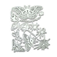 Butterfly Metal Cutting Dies Stencil Scrapbooking Paper Card Decor Embossing