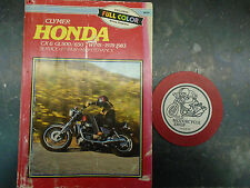 78-83  HONDA CX AND GL 500 / /650 TWINS  CLYMER  REPAIR AND SERVICE MANUAL