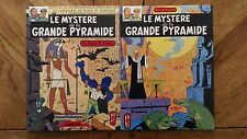 """COMICS Vintage Blake And Mortimer """"the mystery of '. La Grande Pyramid Tome 1&2"""