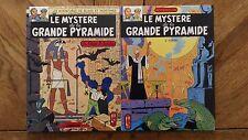 BD Vintage Blake Et Mortimer « Le Mystère De La Grande Pyramide Tome 1&2 » Très