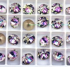 12 Vitrail Light 1088 Swarovski Crystal Chaton Stone SS39 Foiled 8MM