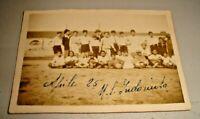 Foto Original Abril 1925 U. S. Indomita Palermo - Rareza' Fútbol Siciliano