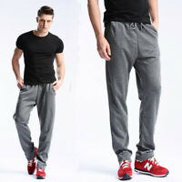 Men's Jogger Pants Gym Fitness Jogging Sweatpants Sports Casual Long Trousers