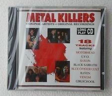 Various : Metal Killers : 18 Track CD ~ Saxon Motorhead U.F.O Black Sabath ~ NEW