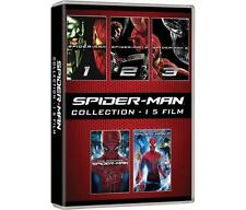 Dvd SPIDER-MAN - Collection (5 Dvd) Spider-Man 1-2-3 e The Amazing 1-2 ...NUOVO