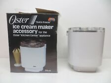 Oster Quick Freeze Ice Cream Maker 770-01 Replacement BUCKET CANISTER PADDLE