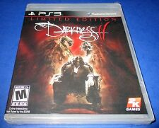 The Darkness II - Limited Edition Sony PlayStation 3 Factory Sealed! Free Ship!