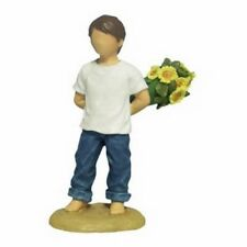 """BLUE JEANS by WESTLAND GIFTWARE  """"FLOWERS 4 YOU"""" 18412"""
