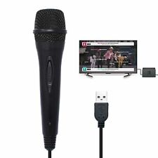 USB Wired Karaoke Gaming Microphone for Nintendo Switch/PS4/Xbox One/Xbox 360/PC