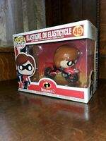 Funko Pop Rides Elastigirl on Elasticycle Disney Incredibles 2