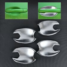 4pcs Silver Chrome Door cup Bowl Cover for Mazda 2 3 6 2010 2011 2012 2013 2014