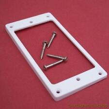 Guitarra Blanco Neck Humbucker Pickup envolvente ring+screws piso trasero inclinado Anillo
