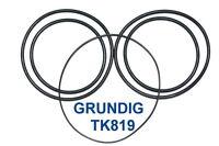 SET RIEMEN GRUNDIG TK819 TONBANDMASCHINE EXTRA STRONG FABRICKFRISCH NEU TK 819