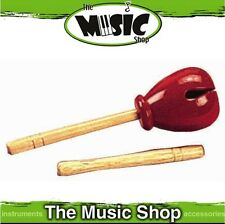 New CPK Percussion Tulip Block with Beater - Red Wooden Head - ED238