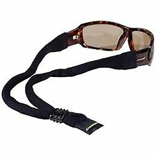 76b095b66f90 Croakies XL Cotton Suiter Eyewear Retainer Black Adjustable Glasses Strap  Secure