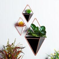 Geometry Wall Hanging Green Plant Wall Planter Box Pot Acrylic Flower Holder
