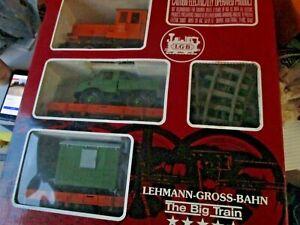 LGB 20530 Construction Train Set G Scale in Original Box