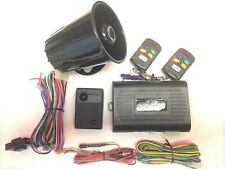 Deluxe 1-Way Car Alarm & Keyless Entry System with 2 Remote Free Shipping New