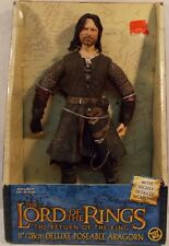 """Lord Of The Rings Lotr """"Return of the King"""" Movie - 11"""" Rotocast Aragorn (Mib)"""