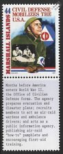 WWII 1941 Office of Civilian Defense (OCD) Mobilizes the USA for War Stamp
