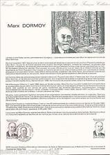 DOCUMENT PHILATÉLIQUE - MARX DORMOY - 1er JOUR 1984