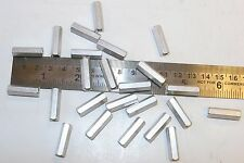 """24 double female 1/4"""" hex 8-32 thread 7/8"""" length aluminum standoffs for 1 price"""