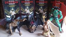 DEVILMAN - BANPRESTO DEVILMENT SET COMPLETO - 1999 - 16 CM - USATO COME NUOVO!!!
