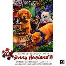 Útil Jardín Patas Rompecabezas 550 Piezas-Jenny Newland