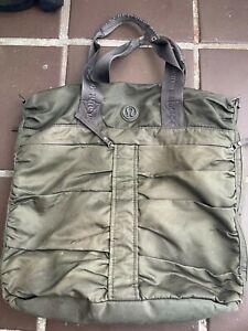 Lululemon Tote Shoulder Bag Olive Green