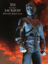 MICHAEL JACKSON 1996 HISTORY U.S. TOUR CONCERT PROGRAM BOOK / NM 2 MINT