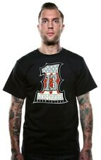 Authentic LUCKY 13 Numero Uno Short Sleeve Rockabilly T-Shirt S-4XL NEW