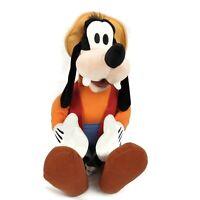 "Disney Parks Goofy Large Hat Plush Stuffed Animal Toy Doll Gone Fishing 20"" Tall"