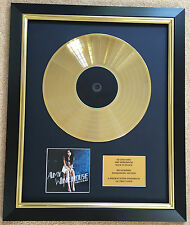 Amy Winehouse / Ltd Edition CD Gold Disc / Record / Back to Black
