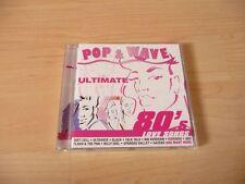 CD POP & WAVE ULTIMATE 80`s LOVE CANZONI: Talk Talk NIK KERSHAW il gazebo Billy Idol