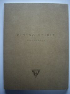 CLAIREFONTAINE FLYING SPIRIT A5 SKETCH BOOK IVORY 90gsm PAPER 120 PAGE ACID FREE