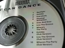 Madonna You Can Dance CD Orig. 1987 DADC Press Sire 9 25535-2 DIDX 2608 RARE OOP