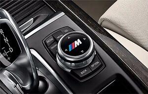 2x BMW M tec I-drive sticker decal logo F10 F20 F30 F01 E70 E90 E71