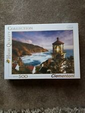 CLEMENTONI Lighthouse 500 PIECE JIGSAW PUZZLE BRAND NEW SEALED