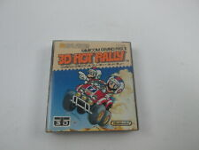 3D Hot Rally with manual Famicom FC Disk System Japan Ver