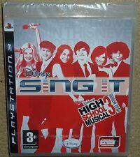 Disney Sing It High School Musical 3: Senior Year (Sony PlayStation 3, 2008) - European Version