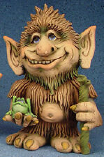 """Ceramic Bisque Ready to Paint Twilly the Troll 13.5"""" tall"""