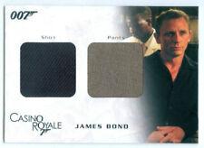 "DANIEL CRAIG ""JAMES BOND DUAL COSTUME CARD #DC03"" JAMES BOND IN MOTION"
